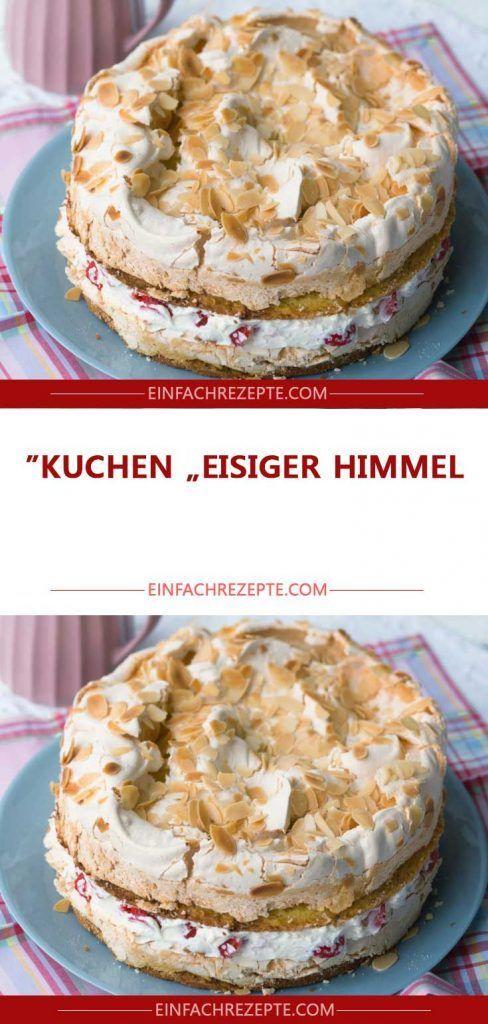 """Kuchen """"Eisiger Himmel"""""""