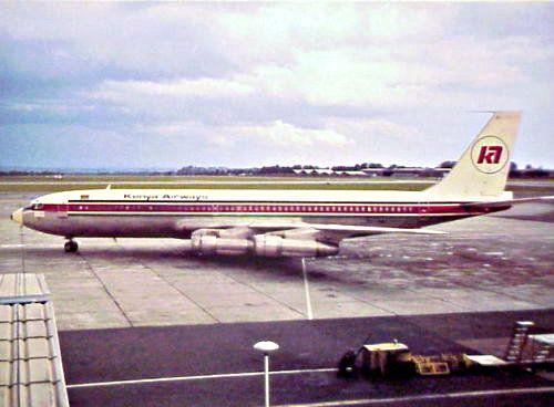 Kenya Airways, Boeing B707