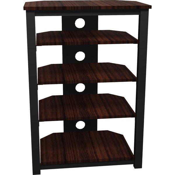 Tower HiFi Rack | Free standing wall, Adjustable shelving