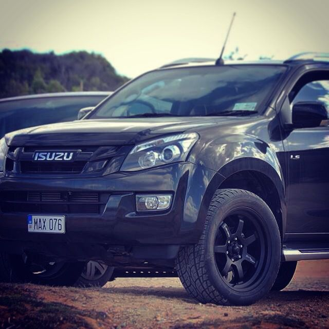 Isuzu D Max Blacked out..