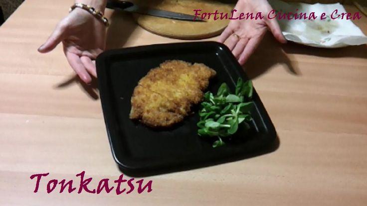 Il Tonkatsu è la cotoletta di Maiale giapponese. Molto buona da sola, stupenda sopra il Katsudon!! ^_^