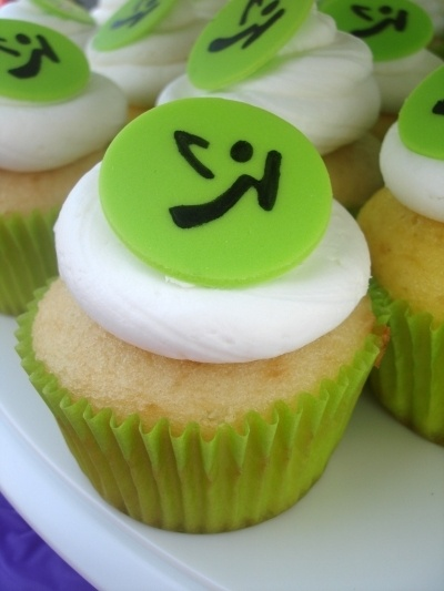 Zumba Cupcakes By SweetTreatsbyJess on CakeCentral.com