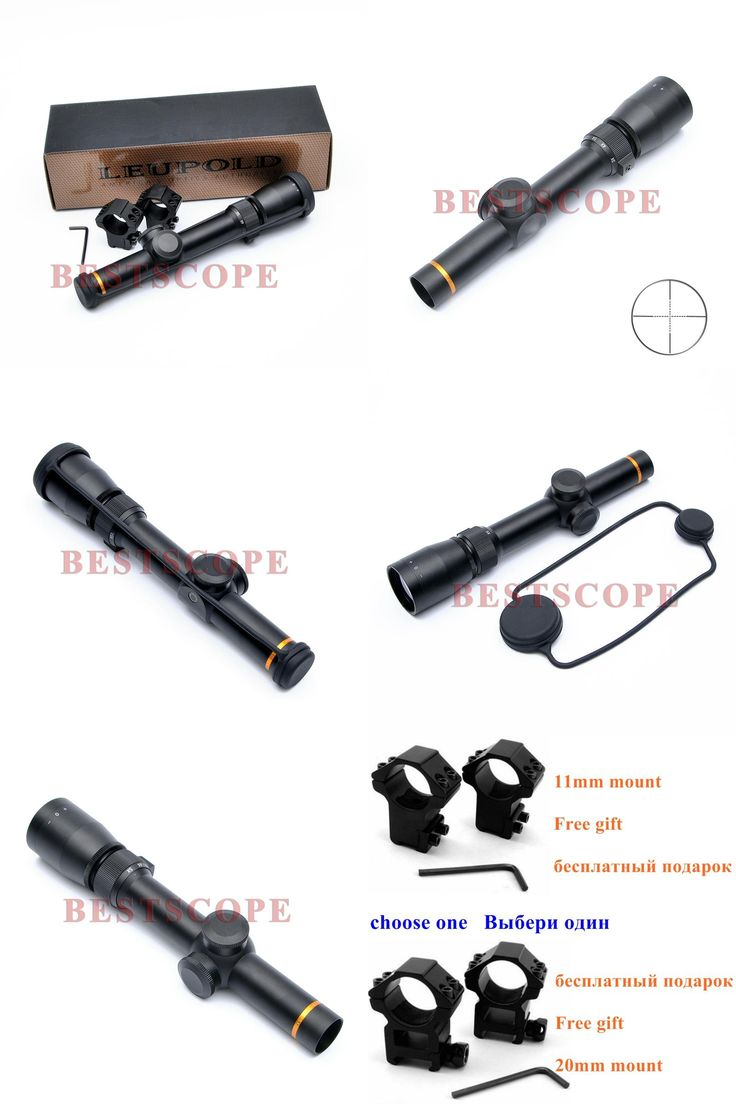 [visit To Buy] Leupold 155x20 Optics Riflescope Hunting Scope Mildot