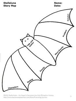 FREE Stellaluna Bats Graphic Organizer Free Download Halloween Activities Book Unit