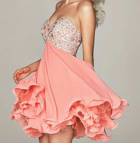 Love this dress!!: Fashion, Homecoming Dresses, Style, Clothes, Dream Closet, Pink, Prom Dresses