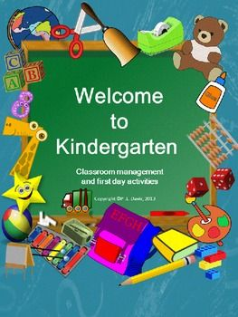 Welcome to Kindergarten/ Pre-K Package