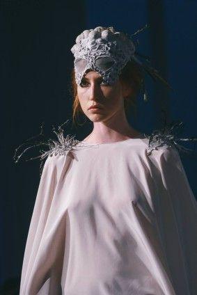 Uroburos - Helena Španingerová, Fashion Show EXIT'15, Ateliér Design oděvu, FMK UTB Zlín, fashion design foto: Ateliér Design oděvu #design #czechdesign