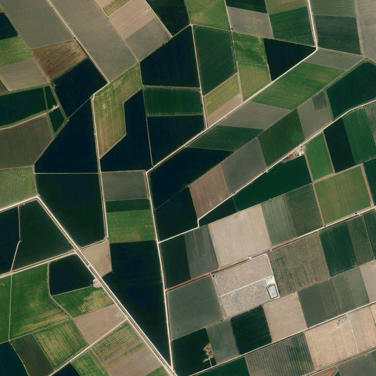 Utrera, Sevilla, Spain.  Earth Patterns 37.092785, -5.921286