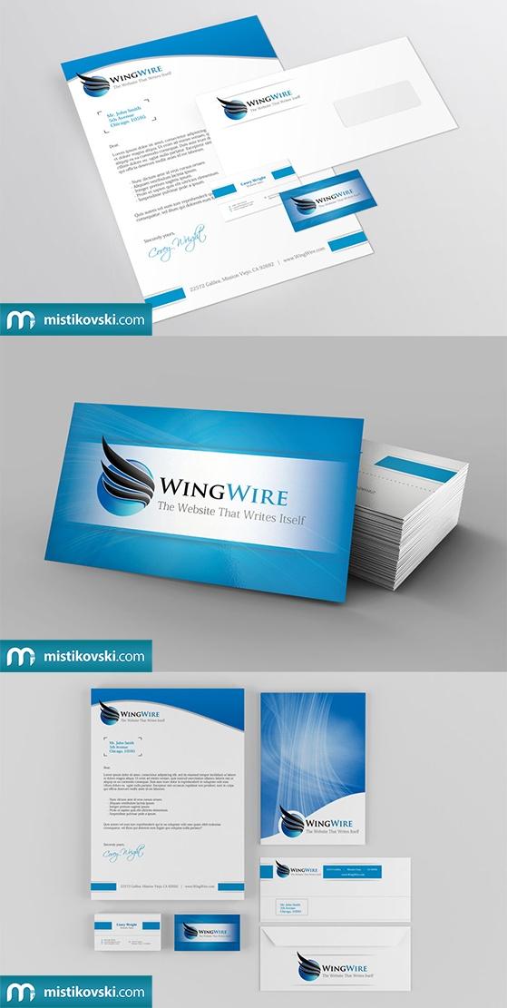 WingWire | Stationery Set | www.mistikovski.com