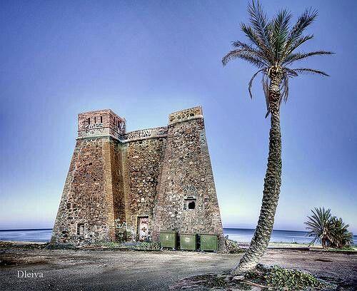 Castillo de Macenas. Mojacar. Almeria. Spain.