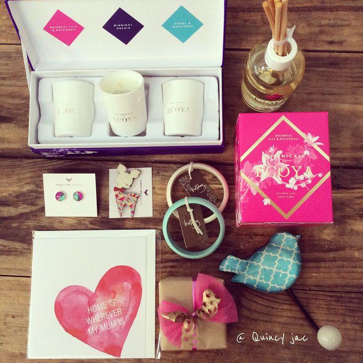 Spoil mum #jewelry #candles #ecoyabotanicals #gifts #quinceyjac @ecoya  @holidaytrading