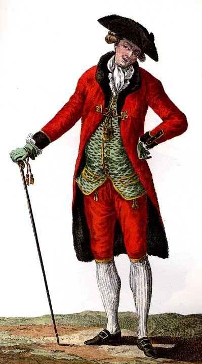 Men who were royal had to wear these types of traditional for French rococo fashion