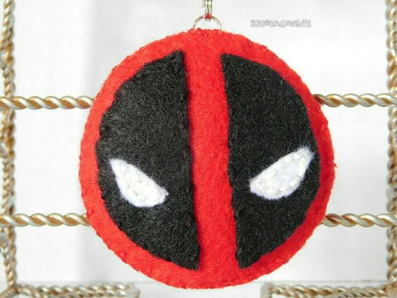 Hey, I found this really awesome Etsy listing at https://www.etsy.com/listing/269001591/felt-fandom-deadpool-accessory-keychain