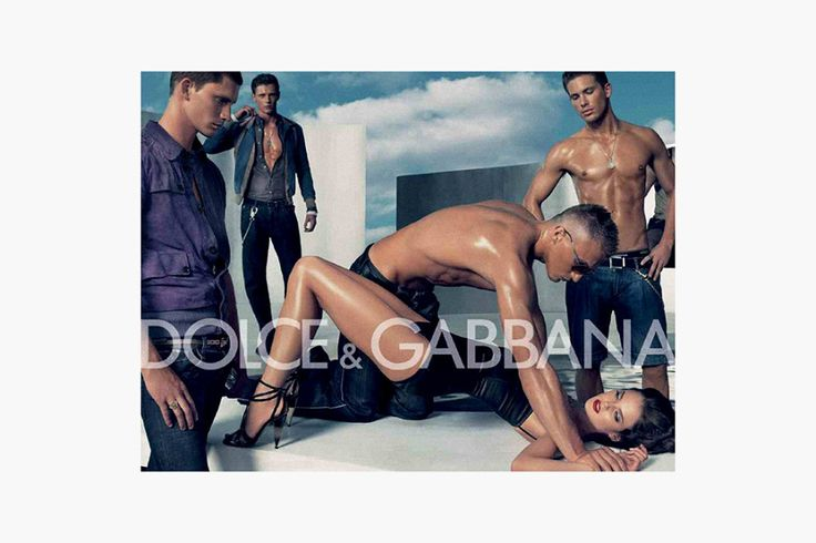"""Dolce & Gabbana de Ad """"Violación Gang"""""""