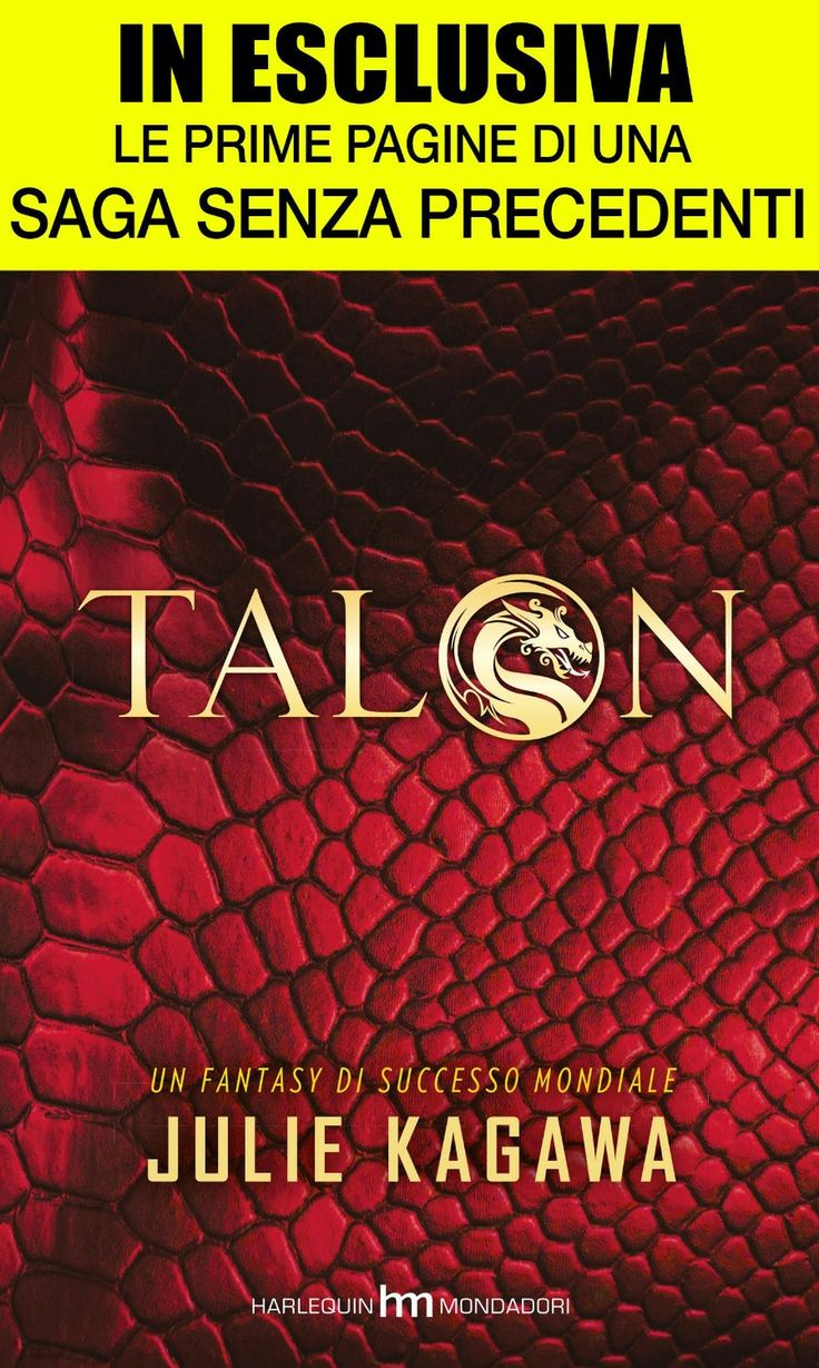 "Recensione in Anteprima: ""Talon"" di Julie Kagawa"