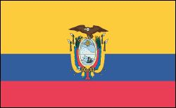 Ecuador:- total area: 109, 483 sq mi (283,560 sq km)    Population (2011 est.): 15,007,343 (growth rate: 1.4%); life expectancy: 75.7; density per sq km: 50    Capital (2009 est.): Quito 1,801,000    Largest cities: Guayaquil, 2,634,000. BIBLE IN MY LANGUAGE