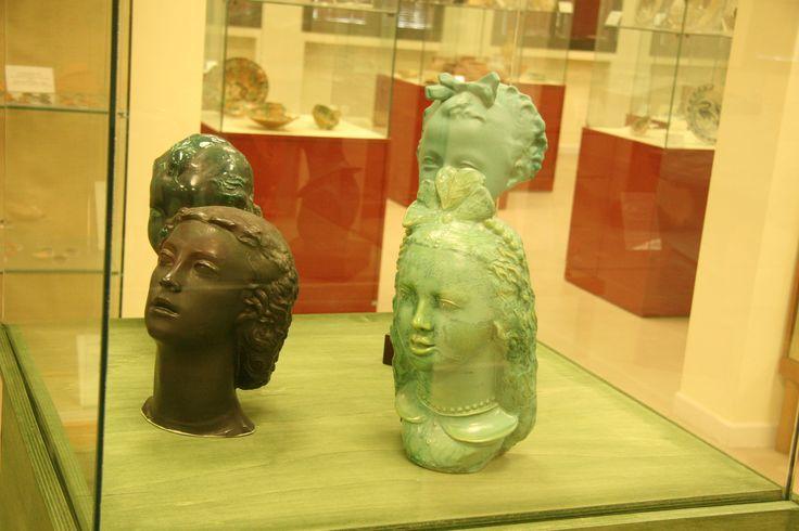 """Le testine di Angelo #Biancini, mostra """"Biancini a Laveno"""", Museo civico di Castel Bolognese, 8 dicembre 2011 - gennaio 2012"""