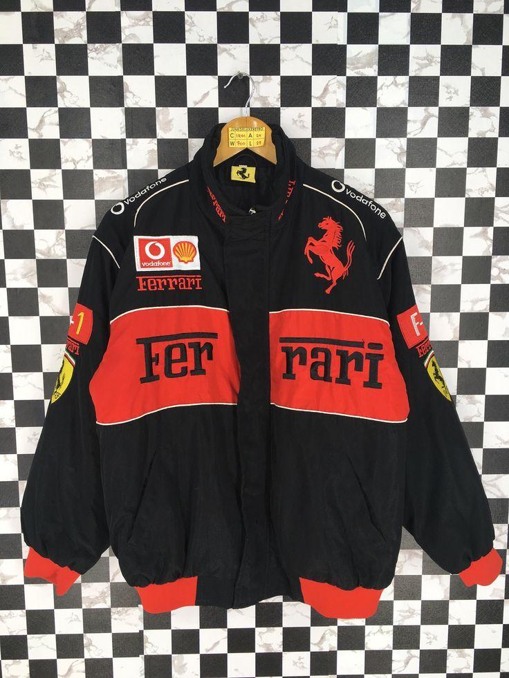 Racing Jacket Auto Racing In 2020 Bomber Jacket Vintage Vintage Racing Jacket Vintage Jacket Outfit