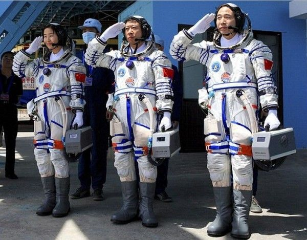 Liu Yang – China's First Female Astronaut To Space - On Saturday, China launched its most ambitious space mission that marks an important step in the country's plans to build a permanent space station. For the first time in China's history, the country has sent a female astronaut along with two male astronauts into space in a mission to dock with the country's orbiting space laboratory. [Click on Image Or Source on Top to See Full News]