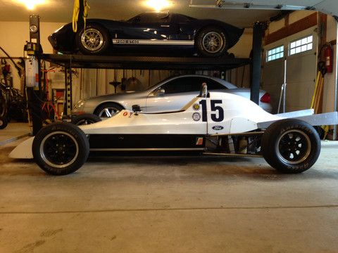 Vintage Race Car Driver Outfits Car Hauling Trailer with ...
