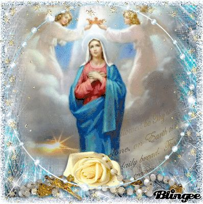 Holy Rosary Jesus Christ And Our Blessed Mother Mary