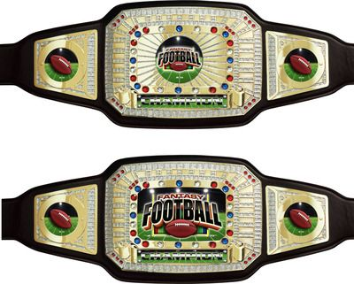 Fantasy Football Championship Belt, awesome. #FFL #FantasyFootball #FarOutAwards