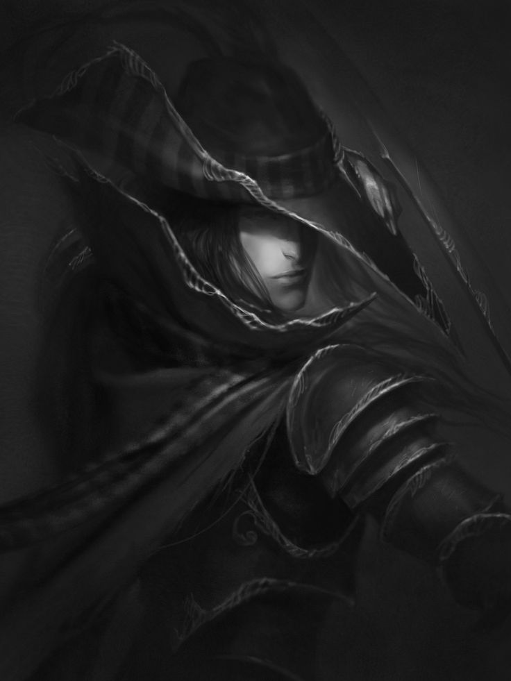 Vampire Hunter D drawing, Josh Burns on ArtStation at http://www.artstation.com/artwork/vampire-hunter-d-drawing