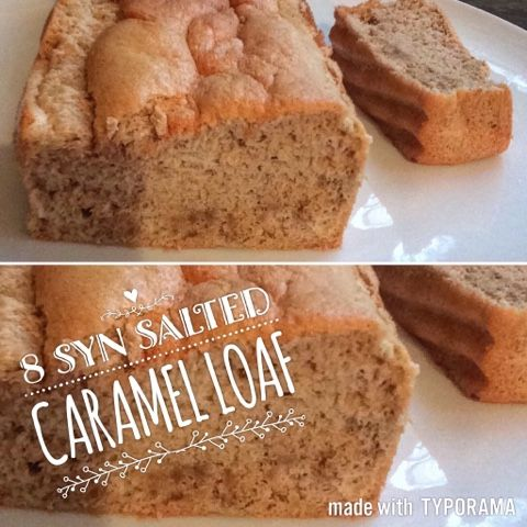 Eating Yourself Slim: Salted Caramel Loaf