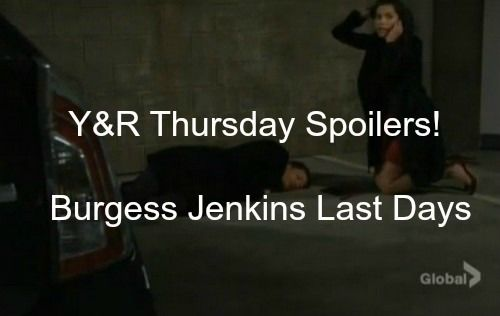 """""""The Young and the Restless"""" spoilers for Thursday, December 31, tease that big drama is about to go down. Billy (Burgess Jenkins) will run into serious trouble"""