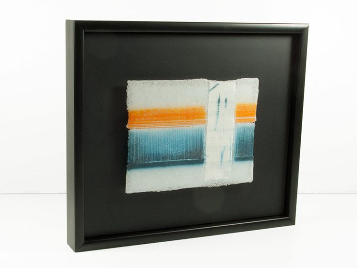 Junction Art Gallery - Jo Newmand 'White Noise Series, V' http://www.junctionartgallery.co.uk/artists/glass/jo-newman