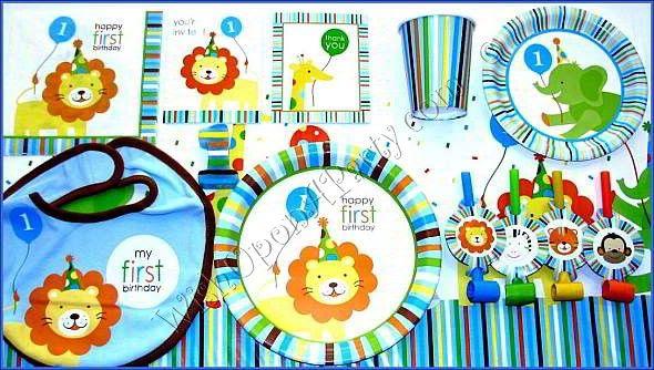 ... Birthday Party Ideas on Pinterest  Zoo animal party, 1st birthday