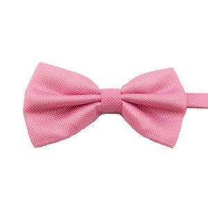 label-cravate - Noeud papillon rose