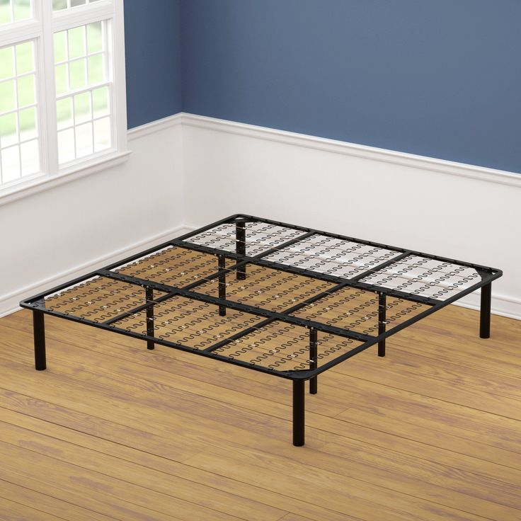 king size black steel bed frame black steel