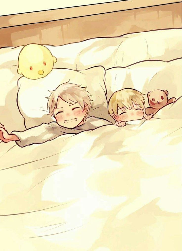 Young Prussia and Germany AAAWWW!!!!! >w<