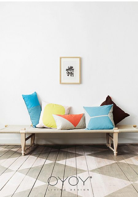 oyoy by the style files, via FlickrLiving Design, Floors, Interiors, Oyoy, Living Room, Studios Couch, Daybeds,  Day Beds, Pillows