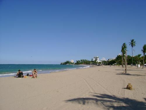 Paradise in the middle of San Juan: Ocean Park Beach is located 1 mile East of the Condado Resort area.  We spent our teen age years going to this beach...