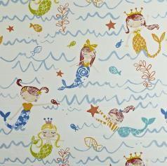 Prestigious Textiles Playtime Mermaid Fabric Collection 5720/707