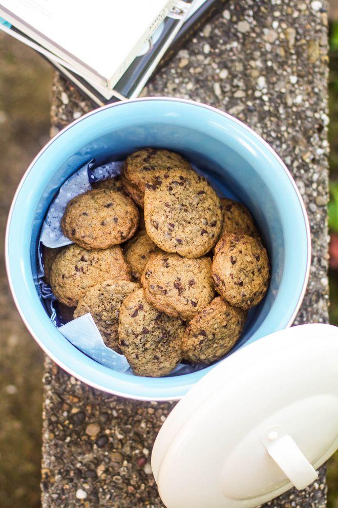 """Un """"Flo"""" de bonnes choses » Cookies à la pointe de sel, chocolat et noix de coco"""
