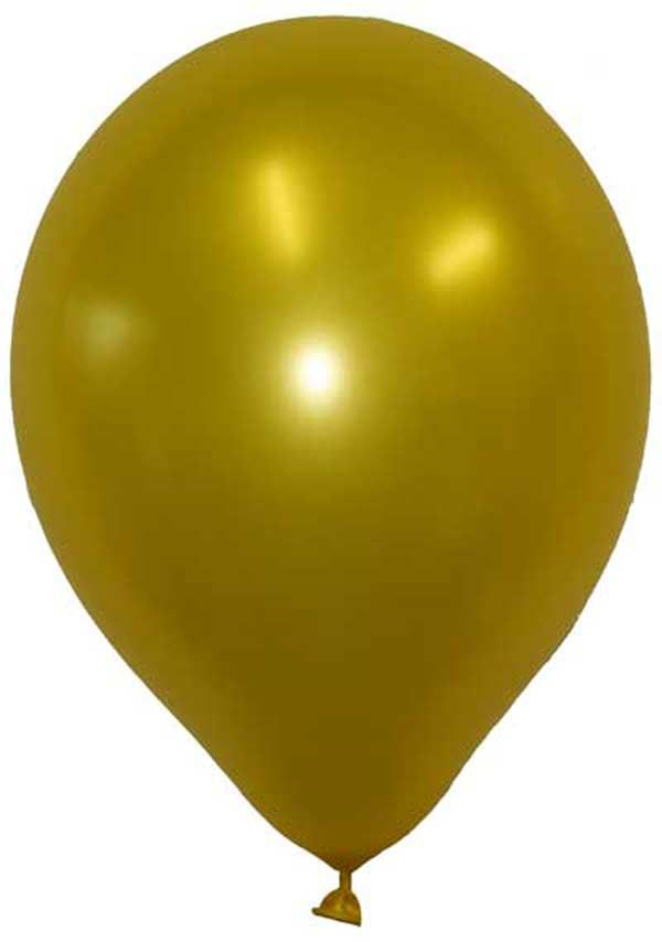 Balloons - Gold/Brown