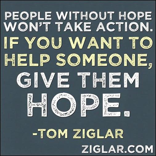 Zig Ziglar Quote Hope