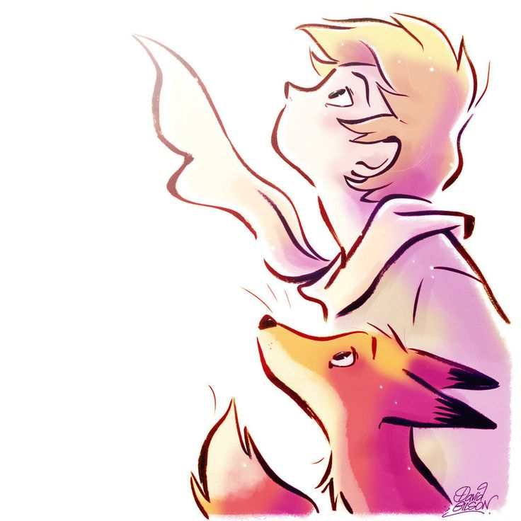 The Little Prince and the Fox in the Light by princekido on DeviantArt