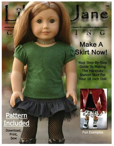 Hi everyone, OnFriday (August 5th) we are offering a free pattern fromCinnamon Miles co-founder of theLiberty Jane PatternCollection, Pixie Faire, and Sew P