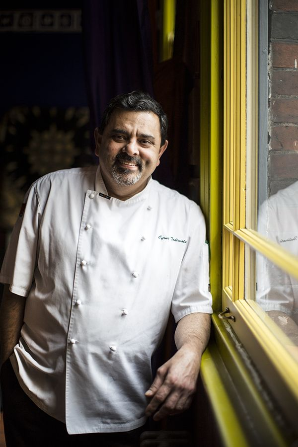 Cyrus Todiwala OBE is one of Britain's most successful and widely admired Indian chefs known for his refined, elegantly spiced and sophisticated cooking. His chain of unique and authentic gourmet restaurants including Cafe Spice Namaste, the landmark Pan-Indian restaurant, and the new restaurant Assado which he runs with his wife Pervin.