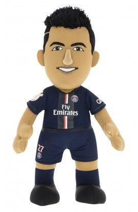 Poupluche Javier Pastore 25 cm - Paris Saint-Germain - Saison 2014/15 - 22,00 €