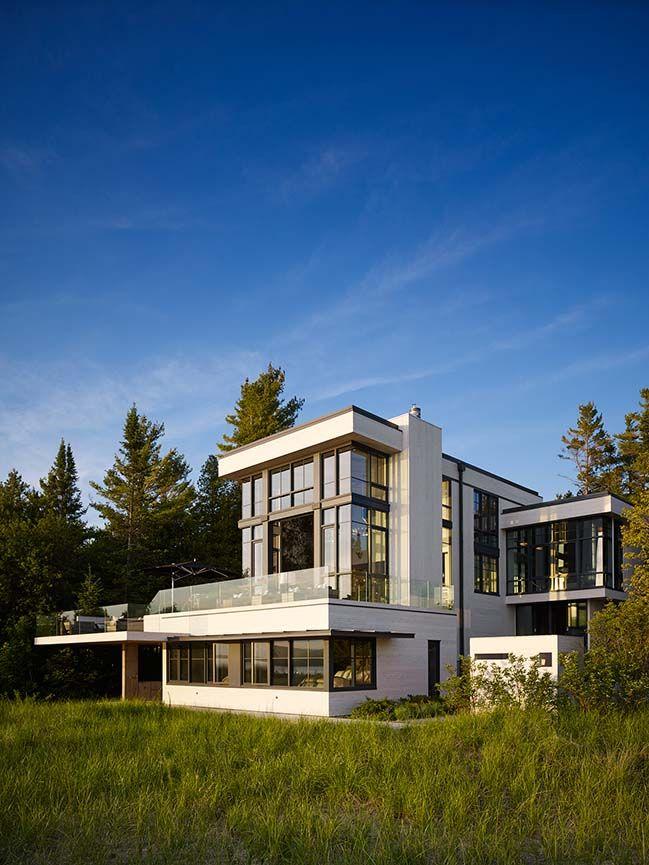 Lake House in Bear Creek Township by von Weise Associates Favorite