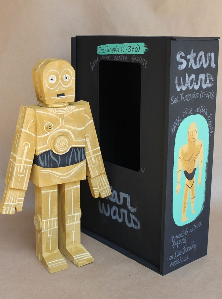 A collection of amazingly detailed and handcrafted Star Wars wooden figurines that will make every Star Wars fan drool out of pure excitement. Must have.