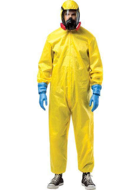 Adult Hazmat Suit Walter White Costume ($49.99) Breaking Bad - Party City ONLINE