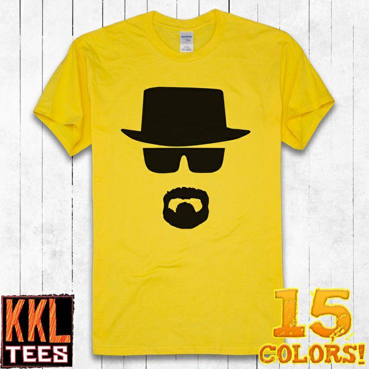 KKL Fashion Designer Brand Short Sleeve O Neck Graphic Printing T Shirt For Men Women 2013 Free Shipping Walter White Heisenberg #Braking Bad