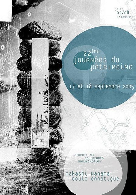 poster / Journée du patrimoine - 3 - Narhana: by Fabien Barral