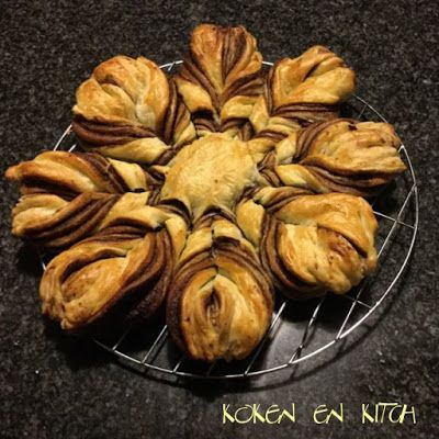 Koken en Kitch: Nutella kerstbrood
